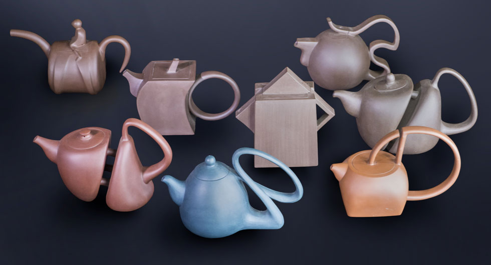 all the yixing teapots